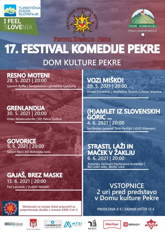 17. festival komedije Pekre